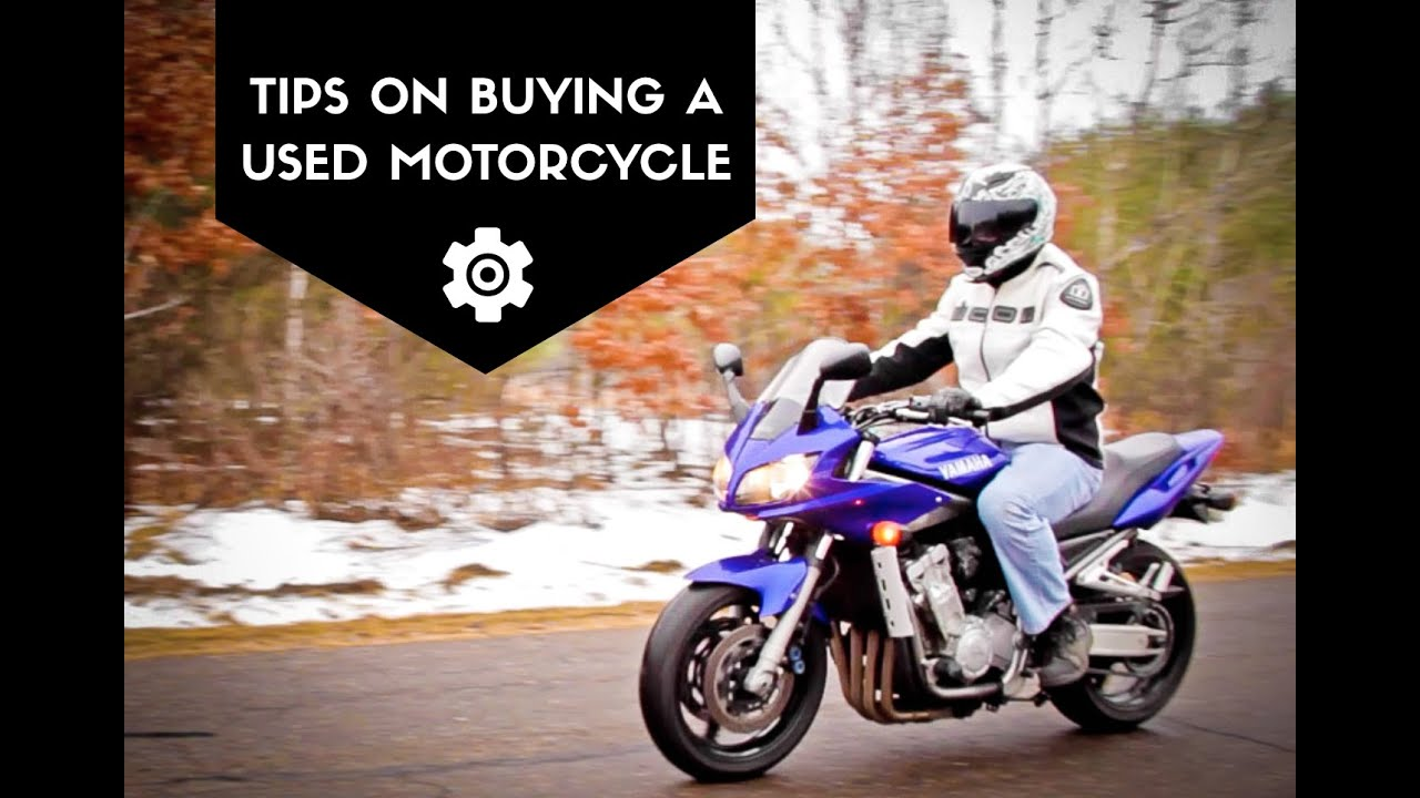how to buy a used motorcycle
