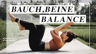 Yoga Ganzkörper Flow   Bauch, Beine & Balance   30 Minuten für Kraft & Stabilität