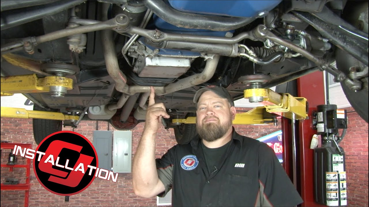 small resolution of mustang transmission filter and gasket kit c4 1965 1969 installation youtube
