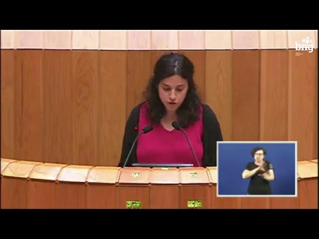 Noa Presas defende as propostas do BNG en materia fiscal nos Orzamentos 2018