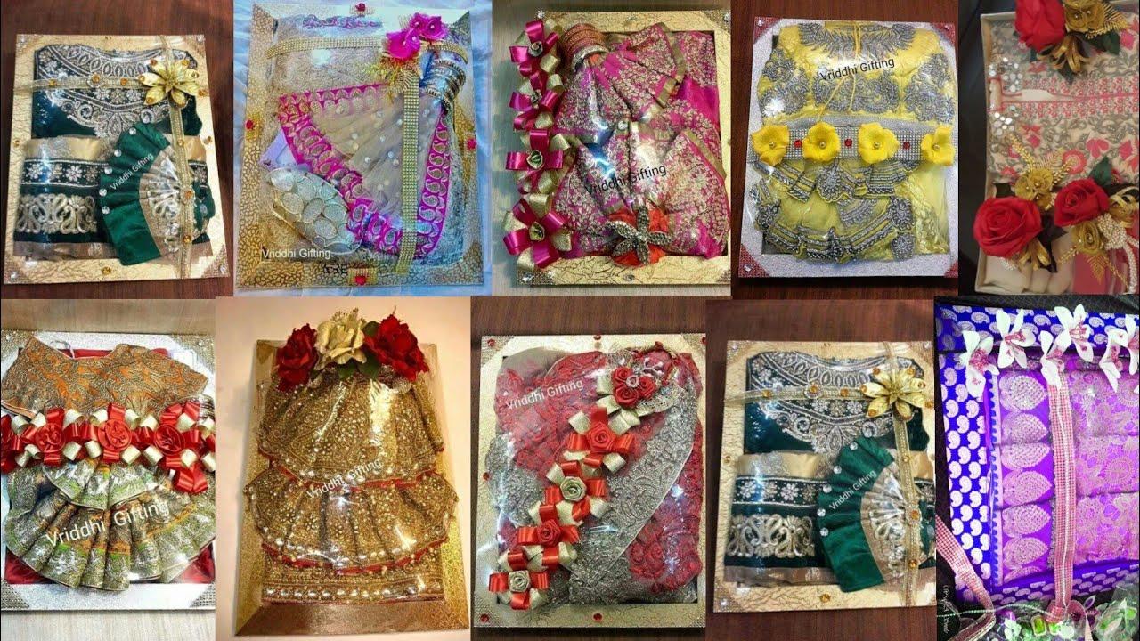 dcbb75e1eadded new saree packing design ideas for gifting beautiful flower saree ...