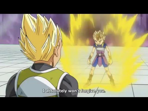 Vegeta vs cabba English sub episode 37