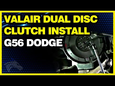 Valair Dual Disc Clutch Install G56 Dodge Transmission