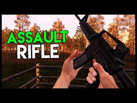 M4 ASSAULT RIFLE FOUND!!! - Rifle Location (Mist Survival Gameplay Part 6)