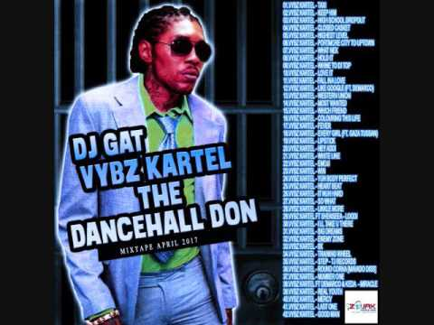 VYBZ KARTEL THE DANCEHALL DON DANCEHALL MIX [RAW] APRIL 2017 NEW TUNES 1876899-5643