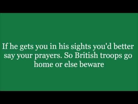 Armagh Sniper lyrics