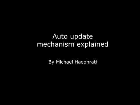 SG Auto Update Explained - By Michael Haephrati