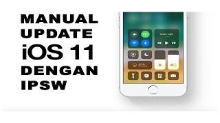 [iMalang] Update/Restore iOs 11.0 manual Dengan IPSW iPhone/iPad/iPod