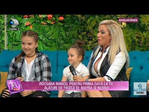 Teo Show (26.10.2017) - Rocsana Marcu, pentru prima data la TV cu Mayra si Indira! Partea IV