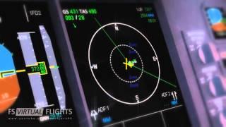 FS2004: WSSS - EGLL (FS Virtual Flights)