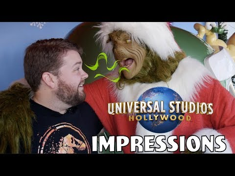 The Grinch Burped In My Face! - Universal Impressions