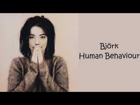 Björk - Human Behaviour (Lyrics/Español)