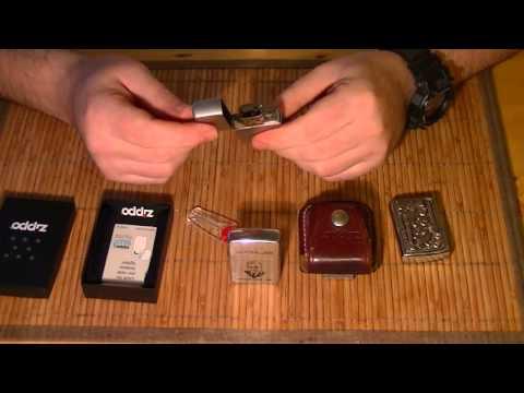 Зажигалка Zippo после 20лет Использования.