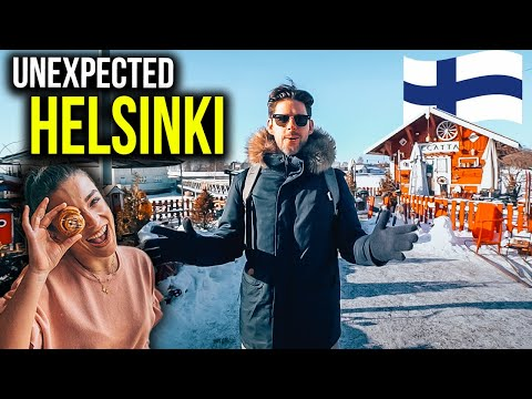 SURVIVING HELSINKI AT -25℃ - EATING TRADITIONAL FINNISH FOOD