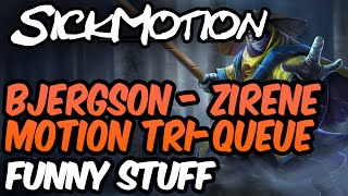 SickMotion Bjergson Zirene Tri-Queue