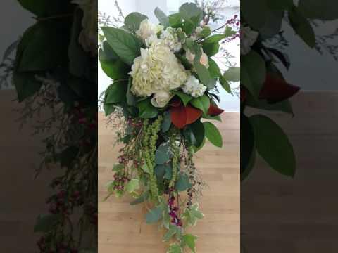 Cascade bridal American school of Flower Design