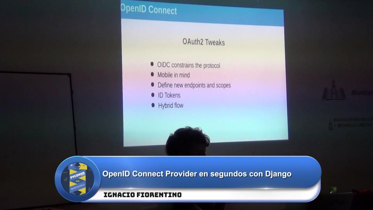 Image from OpenID Connect Provider en segundos con Django