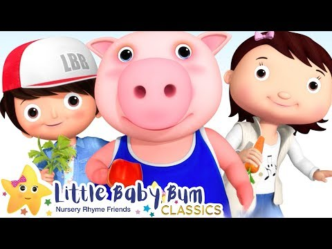 Veggies Song! +More Nursery Rhymes & Kids Songs - ABCs And 123s | Little Baby Bum | Kids Safe