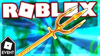 [EVENT] HOW TO GET AQUAMAN'S TRIDENT IN AQUAMAN: HOME IS CALLING | Roblox