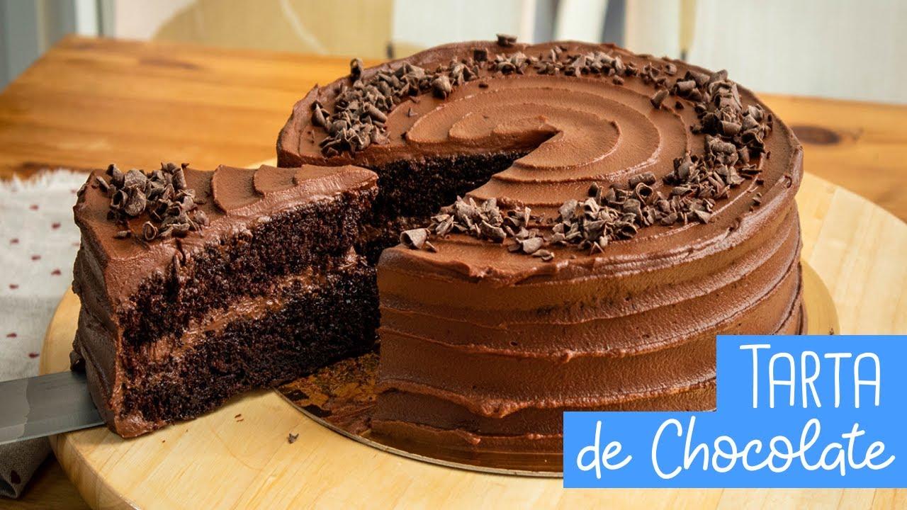 Tarta Muerte Por Chocolate Fácil Y Buenísima Chocoreto Recetas Youtube