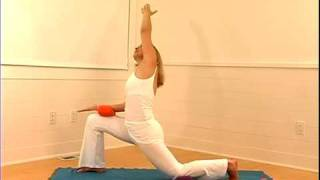 Yoga Doctors™ Terra Gold - Crescent variation - using SHIVA pillow by yogitoes®