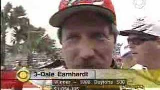 1998 Daytona 500: Victory Lane celebration