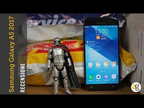 RECENSIONE Samsung Galaxy A5 2017