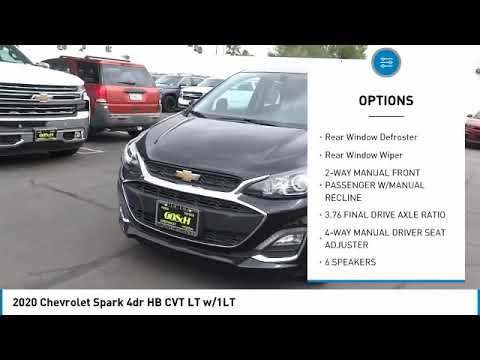 2020 Chevrolet Spark Hemet Beaumont Menifee Perris Lake Elsinore Murrieta C20134