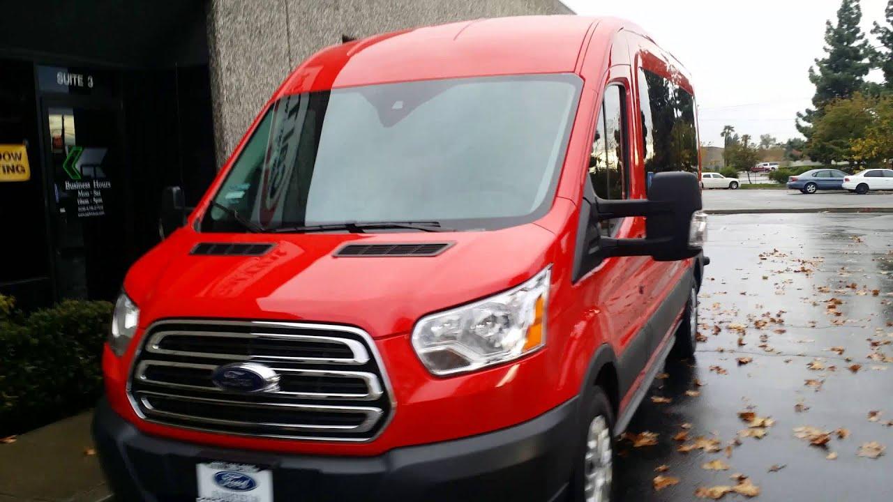 2016 Ford Transit 350 12 passenger van tinted