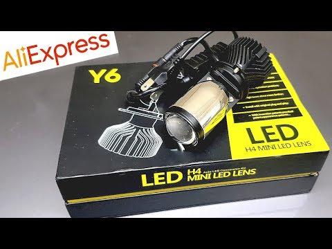 Mini LED линзы в фару вместо лампы! Имеет ли это смысл?