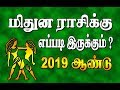 மிதுனம் - 2019 ஆண்டு ராசிபலன்  | MITHUNAM  2019  PREDICTION