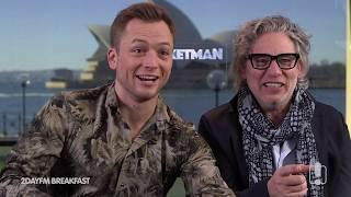 Rocketman's Taron Egerton And Dexter Fletcher Talk Their Love Of Hugh Jackman | 2DayFM Breakfast
