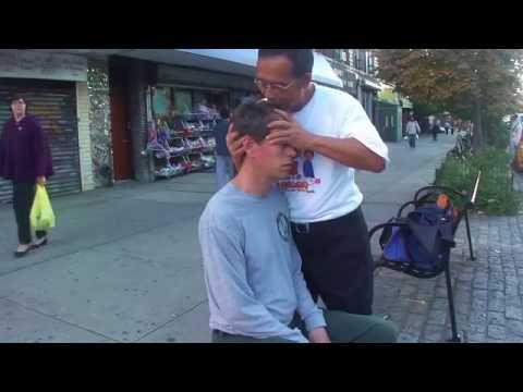 Chinese ASMR Spiritual Massage - Nice Man on Street in Brooklyn