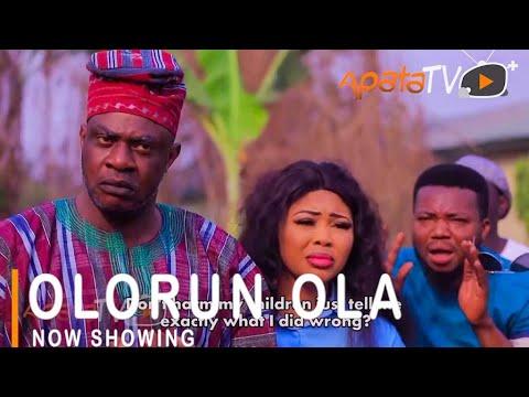 Download Olorun Ola Latest Yoruba Movie 2021 Drama Starring Odunlade Adekola | Wunmi Ajiboye | Ayo Olaiya