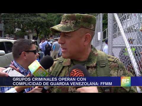 RED+ | No existe cooperación con Venezuela para combatir  grupos criminales: FFMM