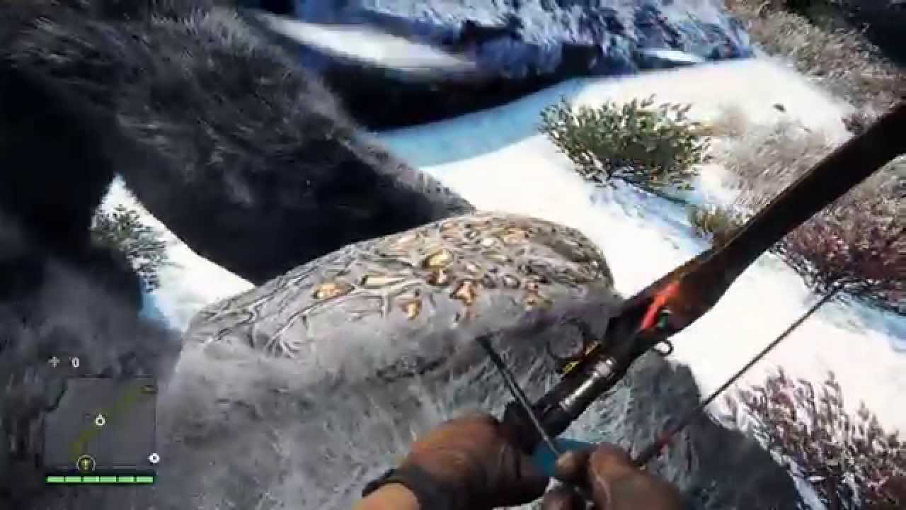 how to kill bear far cry 4
