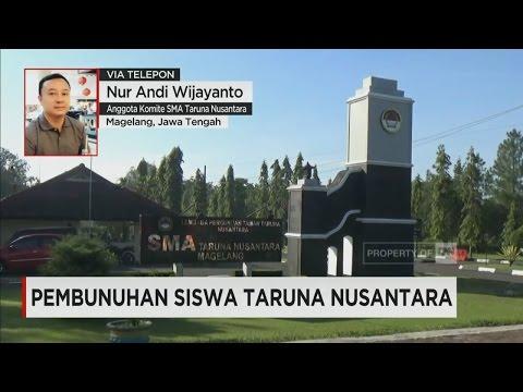 SMA Taruna Nusantara Tanggapi Kasus Pembunuhan Kresna ; Live by Phone