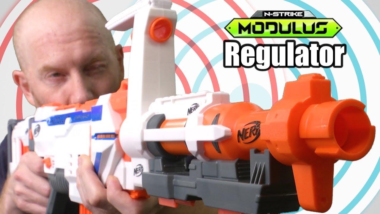 Nerf N-Strike Modulus Regulator from Hasbro