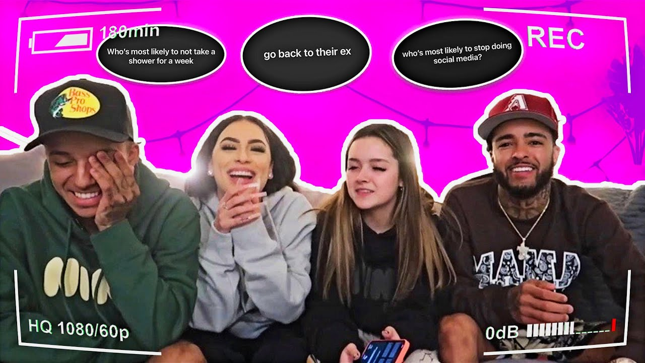 Who's Most Likely To ? (FT JCOOK & REECE & RAY )