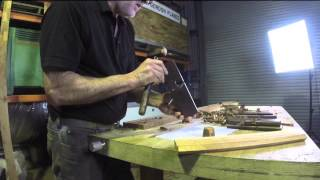 Making A Cedar Bookcase: Crown Moulding And Skirting