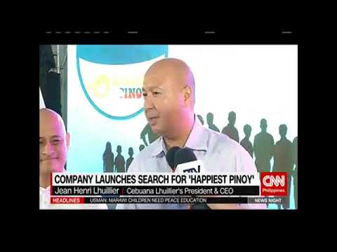 Company Launches Search for Happiest Pinoy