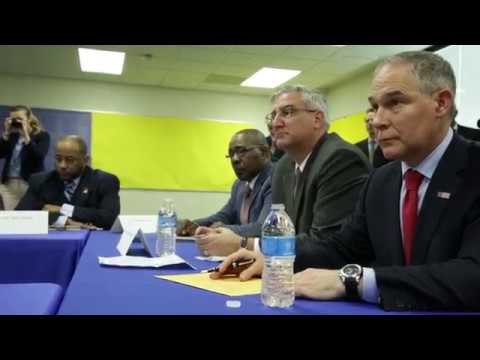EPA Administrator Scott Pruitt Meets with Officials and Residents in East Chicago, Indiana