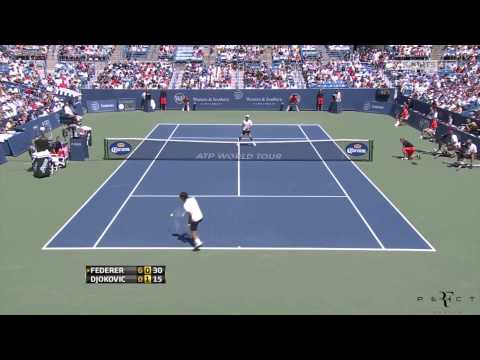 Highlights Roger Federer vs  Novak Djokovic Cincinnati 2012 Final HD