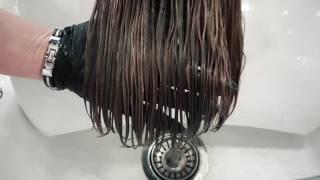 Щадящее выпрямление волос после химической завивки и буст-ап от L'ANZA