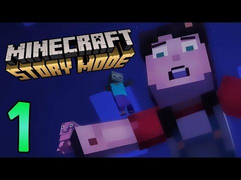 Prebz og Dennis Spiller Minecraft: Storymode Del 1 / Norsk Let's Play