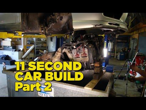 Gramps The 11 Second Car - Build Part 2