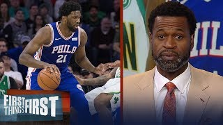 Stephen Jackson agrees Joel Embiid is the NBA's most unstoppable player | NBA | FIRST THINGS FIRST
