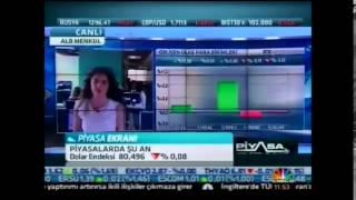ALB Forex Araşt. Uz. Eda Önder Ekonomi piyasaları değerlendiriliyor. - CNBC-E