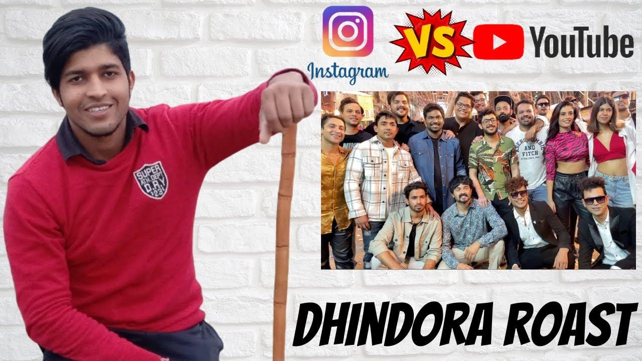 DHINDORA ROAST   YOUTUBERS VS INSTAGRAM REELERS   Dhindora   EP 01: Lag Gayi   BB Ki Vines