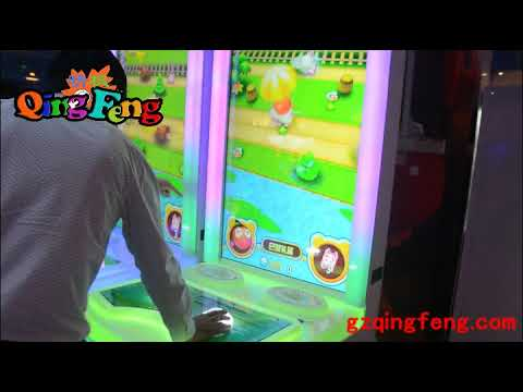 Qingfeng Gashapon parent child interaction prize racing lottery ticket game mahcine sale